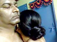 भययोग्य सेक्स सेक्सी घर का भारतीय परिपक्व बालों वाली जोड़ी है